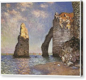 The Needle Etretat Canvas Print