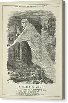 The Nemesis Of Neglect Canvas Print by British Library