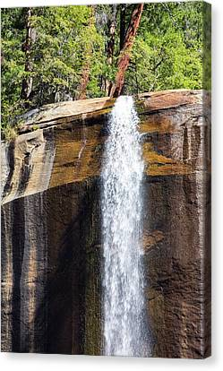 The Nevada Fall Above The Yosemite Canvas Print