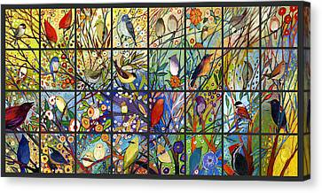 Hummingbird Canvas Print - The Neverending Story Set 32a by Jennifer Lommers