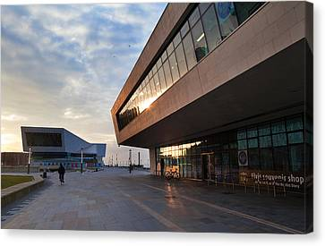 The New Pier Head Ferry Terminal Canvas Print