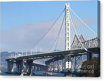 The New San Francisco Oakland Bay Bridge 7d25464 Canvas Print