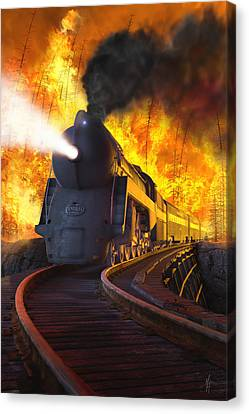 The New York Central Canvas Print