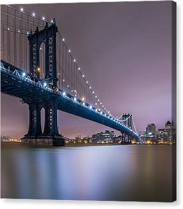 Canvas Print featuring the photograph The Night B4 Christmas  by Anthony Fields
