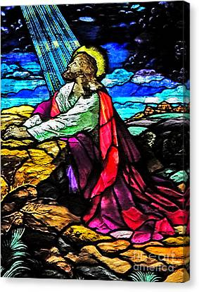 The Night Before The Cross Canvas Print