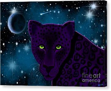 The Night Stalker Canvas Print by Nick Gustafson