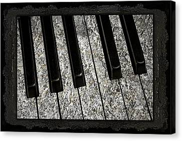 The Night The Music Died Canvas Print by John Stephens