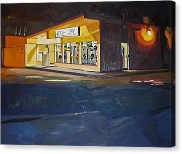 The Night Wash Canvas Print by Deb Putnam