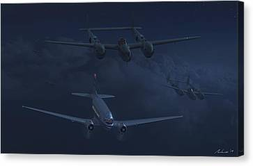The Night Watch Canvas Print by Hangar B Productions