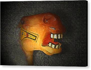 The Nightmare Canvas Print by Ernie Echols