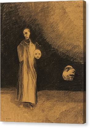 The Nightmare Canvas Print by Odilon Redon