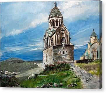 The Noravank Monastery Canvas Print