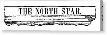 The North Star, 1847 Canvas Print