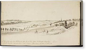 The Northamptonshire Landscape Canvas Print by British Library