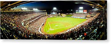 The Nose Bleeds  Canvas Print by Andrew Raby