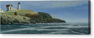 The Nubble Canvas Print