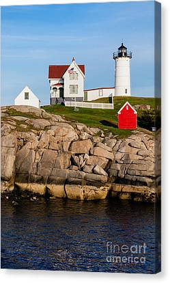 The Nubble York Maine Canvas Print by Dawna  Moore Photography