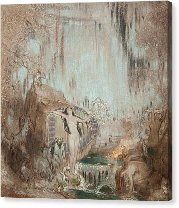 The Nymph Of Malham Cove Canvas Print by William Shackleton
