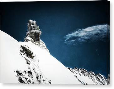 The Observatory Canvas Print by Ryan Wyckoff