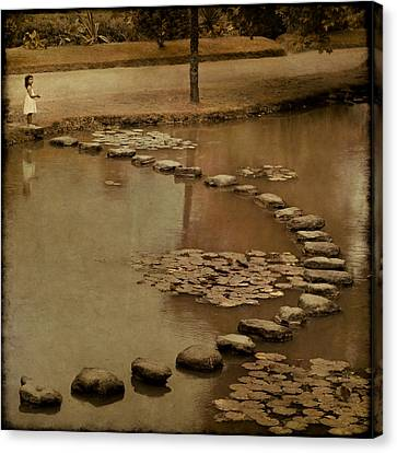 The Obstacle Is The Path Canvas Print