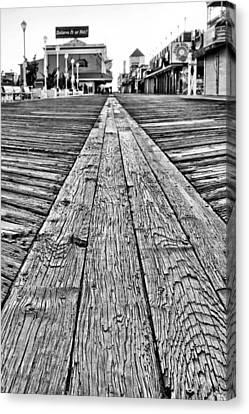 The Ocean City Boardwalk Canvas Print