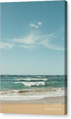 The Ocean Of Joy Canvas Print by Sharon Mau