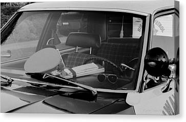 The Office On Wheels Canvas Print