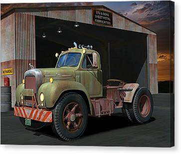 The Ol' Bulldog Canvas Print by Stuart Swartz