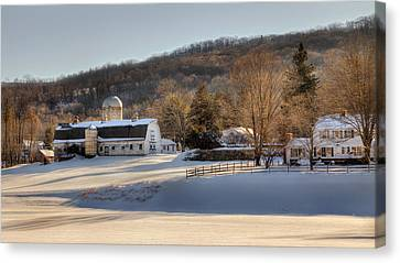 The Ol Homestead Canvas Print by Bill Wakeley