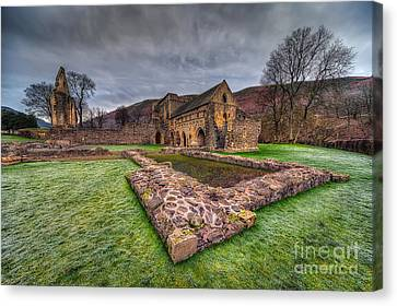 The Old Abbey Canvas Print by Adrian Evans