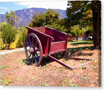 The Old Apple Cart Canvas Print
