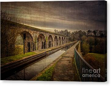 The Old Aqueduct Canvas Print by Adrian Evans