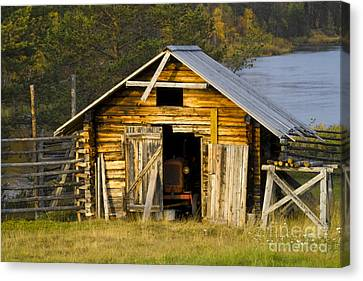 Heiko Canvas Print - The Old Barn by Heiko Koehrer-Wagner