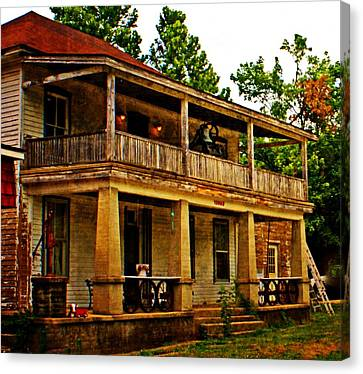 The Old Boarding House Canvas Print by Marty Koch