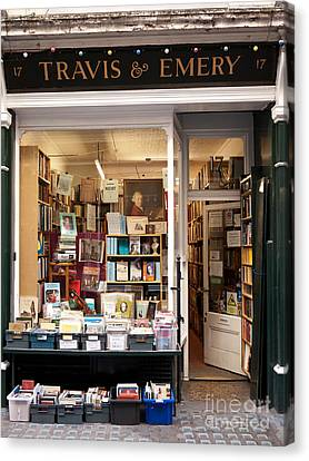 The Old Bookshop Canvas Print by Rick Piper Photography