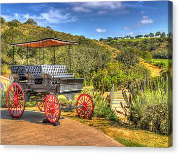 The Old Buggy Canvas Print by Heidi Smith