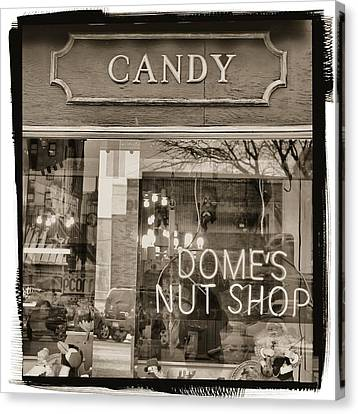 The Old Candy Store Canvas Print by Dan Sproul