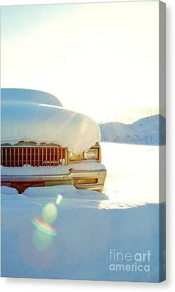 The Old Chevy Canvas Print by Alanna DPhoto