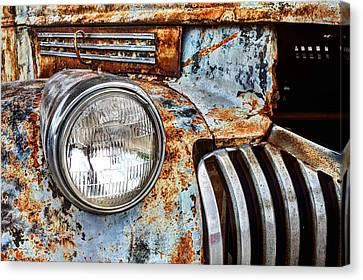 The Old Chevy  Canvas Print