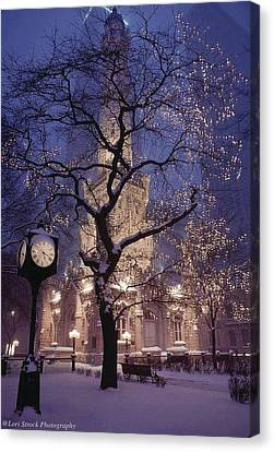 The Old Chicago Water Tower Canvas Print