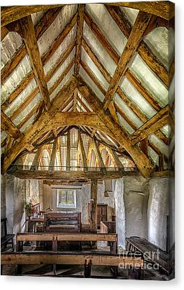 The Old Church Canvas Print by Adrian Evans
