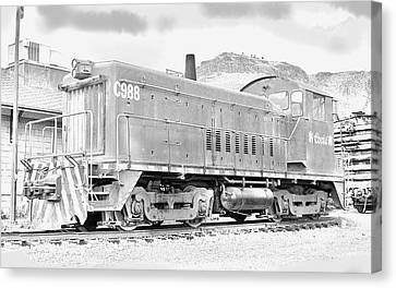 The Old Coors Switcher Canvas Print by J Griff Griffin