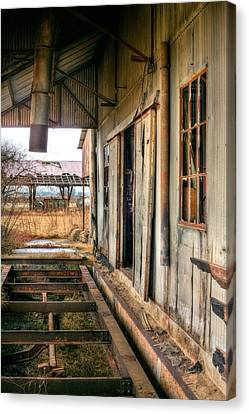 The Old Cotton Gin Canvas Print by JC Findley