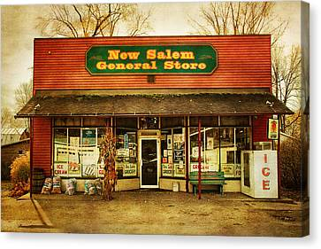 Grocery Store Canvas Print - The Old Country Store by Randall Nyhof
