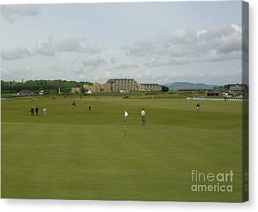 The Old Course Canvas Print