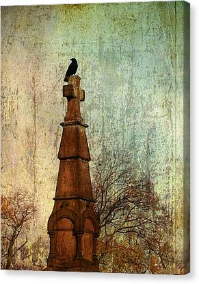 The Old Cross Canvas Print by Gothicrow Images