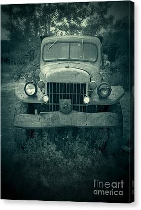 The Old Dodge Canvas Print by Edward Fielding