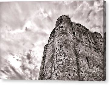 The Old Dungeon Canvas Print by Olivier Le Queinec
