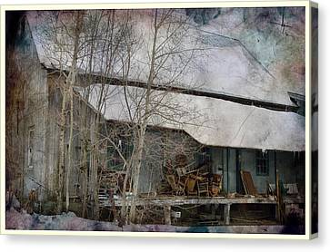 The Old Feed Mill Canvas Print by Cynthia Nichols