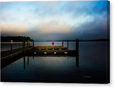 The Old Fishing Spot Canvas Print by Jillian  Chilson